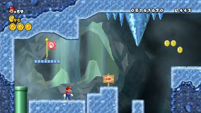 New Super Mario Bros. Wii Gameplay