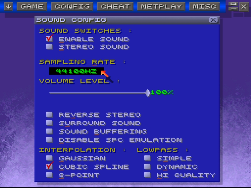 Zsnes   The Emulation64 Network